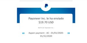 Dinero con Appen